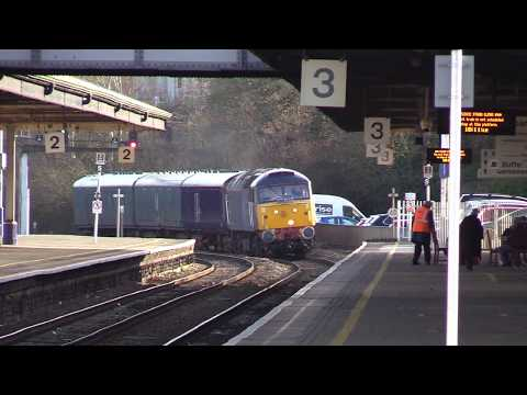 Rail Operations Group 47813 passes Newton Abbot with Laira t…
