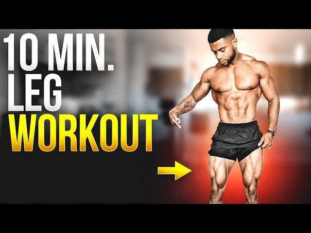 10 Min. Home Leg Workout – Follow Along