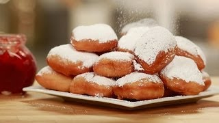 Homemade Beignet Recipe - Celebrate Mardi Gras The Right Way! | Get The Dish