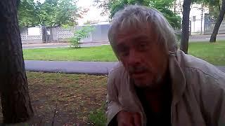 """""""украинец в Москве""""Разговор с бездомным.((("""