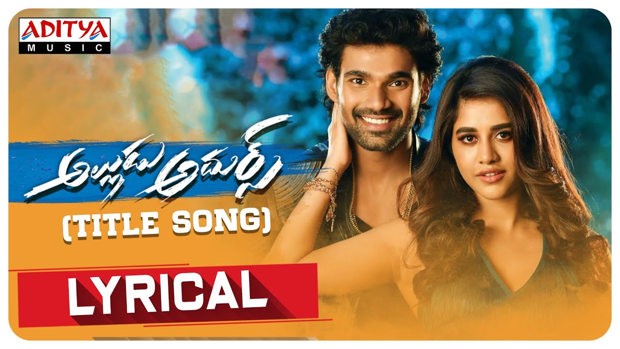 Alludu Adhurs Title Song Lyrical