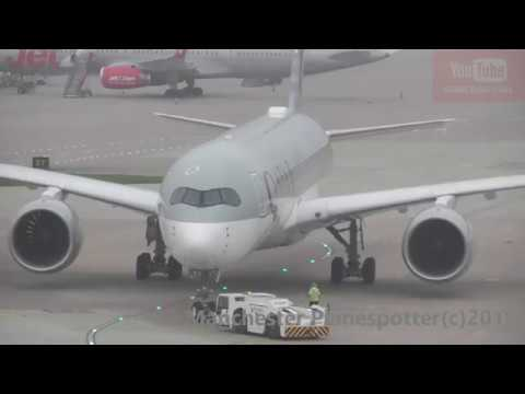 (HD) Plane Spotting At (MAN) Manchester Airport (EGCC) With Lots Action On The 26/08/2019
