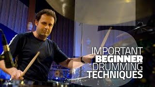 5 Beginner Drumming Techniques You Need To Know   Drum Lesson