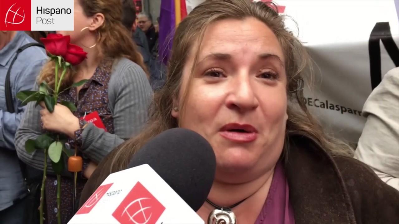 Militantes del PSOE exigen al partido no facilitar reelección de Rajoy