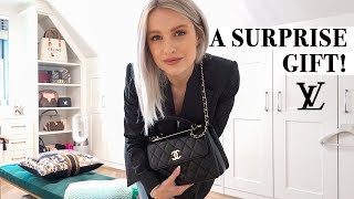 A NEW LUXURY BAG AND WINTER TO SPRING OUTFITS in PARIS | INTHEFROW