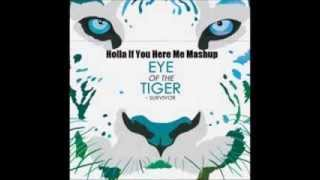 2PAC vs Survivor Holla If Ya Hear Me Eye Of The Tiger Rock Hiphop Mashup