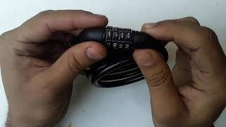 How to unlock cycle number lock in hindi language