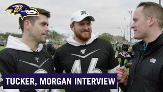 Justin Tucker: We're Kind of Confident in Mark Ingram's Holding Skills | Baltimore Ravens