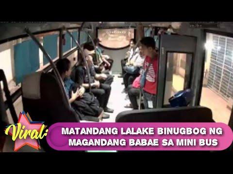 Viral: Matanda sinapak at binugbog sa Mini bus kuha sa CCTV