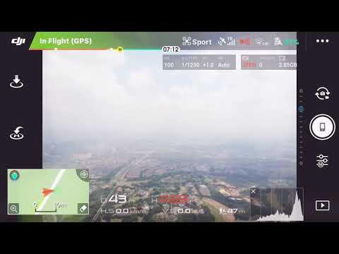 mavic air max height of 500 meters