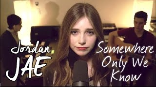 Keane - Somewhere Only We Know (Cover by Jordan JAE - Live @ Slumbo)