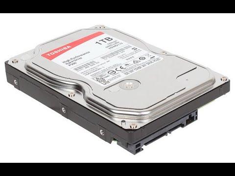 Отчет о восстановлении данных с жесткого диска Toshiba. HDD  издавал скрипящие звуки у заказчика