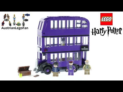Vidéo LEGO Harry Potter 75957 : Le Magicobus