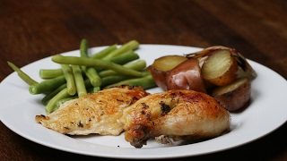Make This Complete Chicken Dinner In Your Slow Cooker!