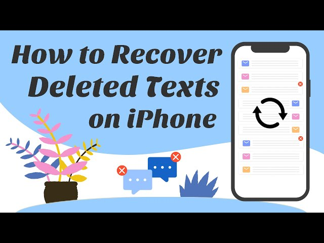 How to Recover Deleted iPhone Text Messages (SMS) Even on iOS 14