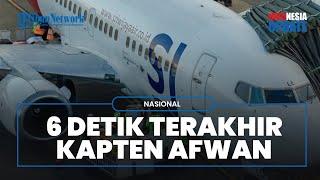 POPULER: FDR Tunjukkan Pilot Sriwijaya Air SJ-182 Masih Komunikasi dengan ATC 6 Detik sebelum Jatuh