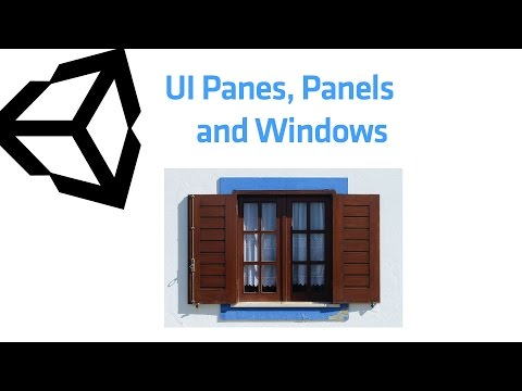panes panels and windows