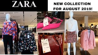 ZARA SUMMER/FALL COLLECTION || LADIES FASHION AUGUST 2019