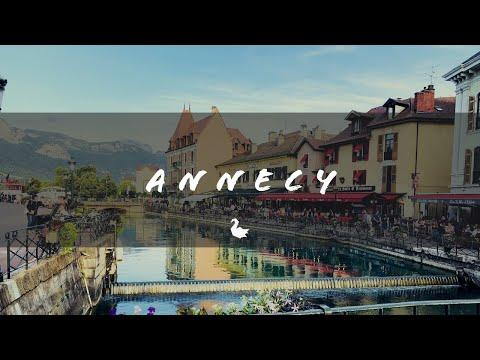 סרטון נהדר של העיר אנסי בצרפת באיכות 4K מרהיבה