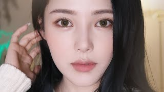 Calm Beige Makeup (With subs) 차분한 베이지 메이크업🍞 - Video Youtube