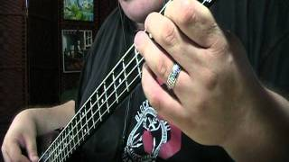 Styx Come Sail Away Bass Cover with Notes and Tablature