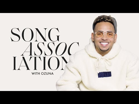 Ozuna Sings Pitbull, Aventura and Don Omar in a Spanish Edition of Song Association | ELLE