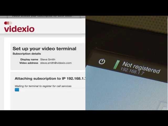 Videxio Provisioning