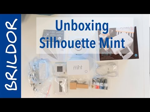 Unboxing Silhouette Mint: sellos personalizados a color