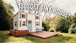 130 SQFT Tiny House Tour! | Full Airbnb Tiny Home Tour!