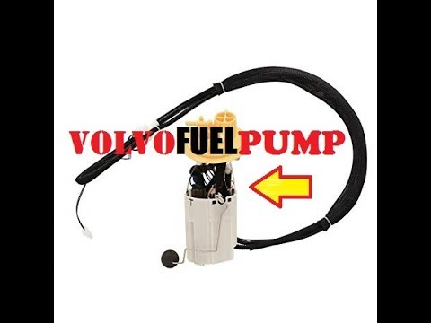 VOLVO FUEL PUMP REPLACEMENT. COMPLETE GUIDE.