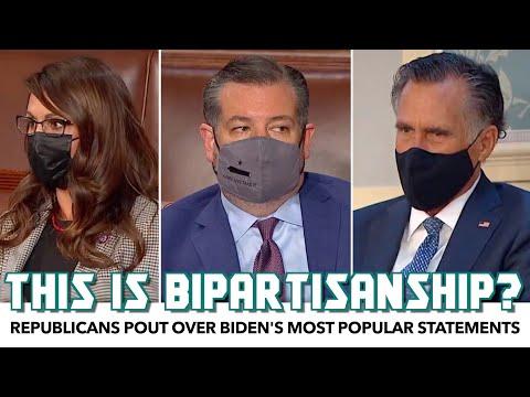 Republicans Pout Over Biden's Most Popular Statements