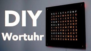 DIY Wortuhr - Der Bausatz von Du-Kannst-Mitspielen.de   Tips, Tricks & More