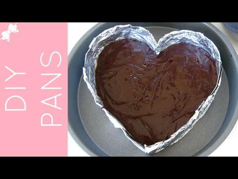 How To Make DIY Cake Pans (heart cake pan, cheesecake pan, mini cakes...) // Lindsay Ann Bakes