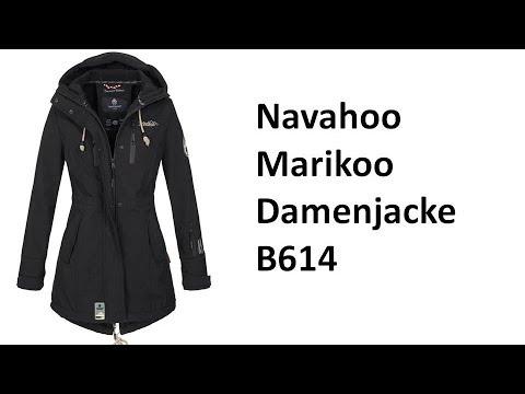 Marikoo Winterjacke Mantel Outdoor wasserabweisend Softshell B614 - Review | deutsch / german