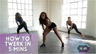 Learn How To Twerk In 5 Minutes | Tone N Twerk | Twerk Dance Workout by Hip Shake Fitness