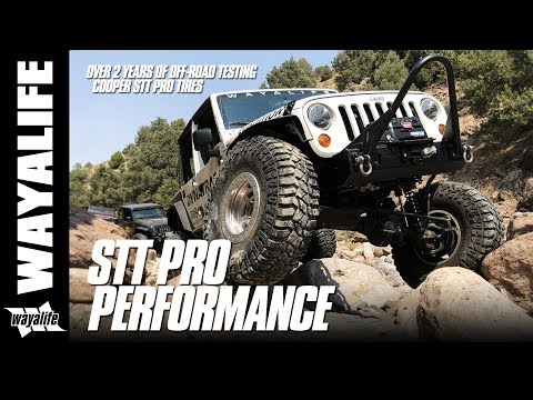 Jeep Wrangler Off Road Testing Of Cooper Discoverer STT PRO Tires For Over 2 Years
