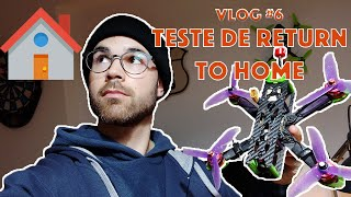FPV VLOG#6 - Consegui fazer o drone voltar para casa sozinho?