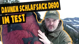 Carinthia Daunenschlafsack D600 Test
