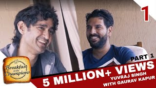 BwC S2E1 - Yuvraj Singh | Yuvi burns down the kitchen! (Part 1)