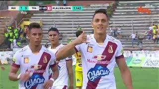 Huila Vs. Tolima (1-5) Liga Aguila 2019 1 | Fecha 10