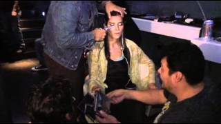 Backstage Patricia Velasquez
