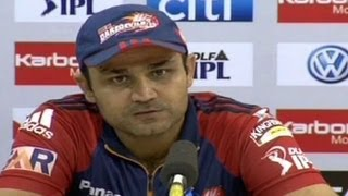 Virender Sehwag about shuffling the batsman
