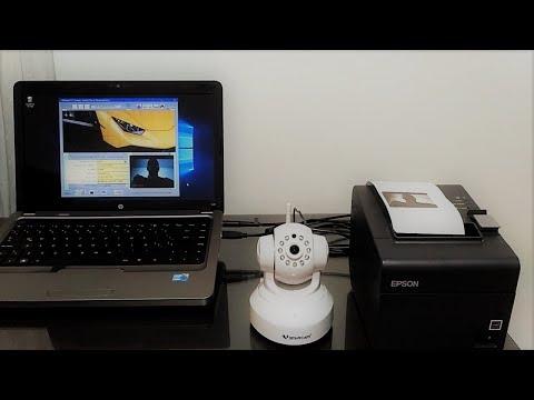 Convertir Cámara IP en Webcam para Control de Estacionamientos y Visitantes