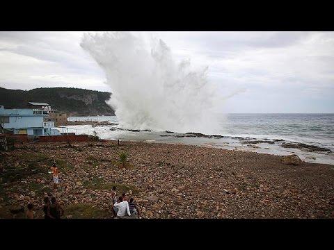 Αϊτή: Φόβοι για εκτεταμένες καταστροφές από τον τυφώνα Μάθιου