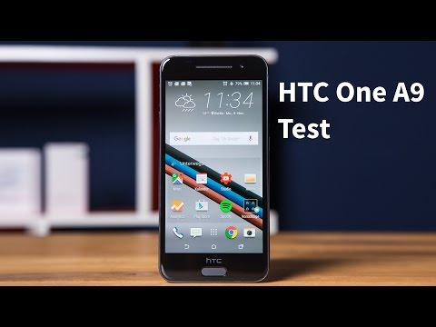 Youtube Video HTC One A9 carbon grey
