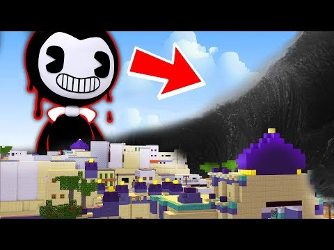 TSUNAMI OF BENDY AND THE INK MACHINE IN MINECRAFT