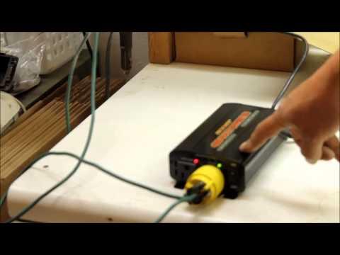 BOOST 400  Watt Power Inverter 12V 12 volt DC to 120V AC power inverter