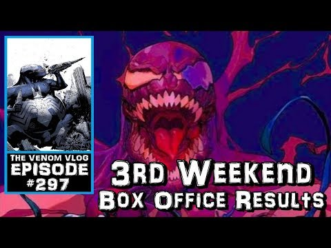 The Venom Vlog #297: 3rd Weekend Box Office Results