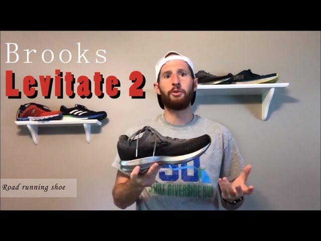 Brooks Levitate 2 test & review - High energy return road running shoe