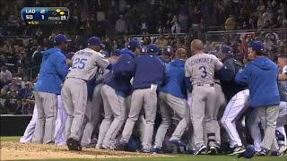 MLB | CHARGING THE MOUND! BRUTAL FIGHTS! | 1080p HD | Kholo.pk